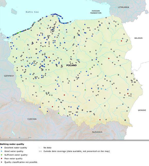 Polska w raporcie Europejskiej Agencji Środowiska
