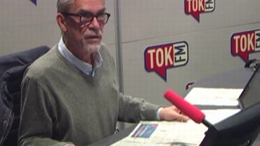 """Jacek Żakowski w """"Poranku Radia TOK FM"""""""