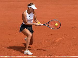 Genialny pierwszy set, a potem kompletna zapaść! Magda Linette odpada z Roland Garros