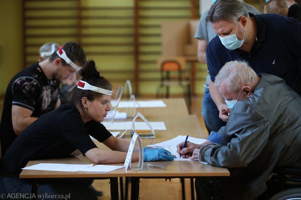 Kraków. Druga tura wyborów prezydenckich 2020