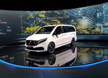 Mercedes EQV oficjalnie. Klasa V dostała elektryczny silnik i na jednym ładowaniu przejedzie nawet 400 km