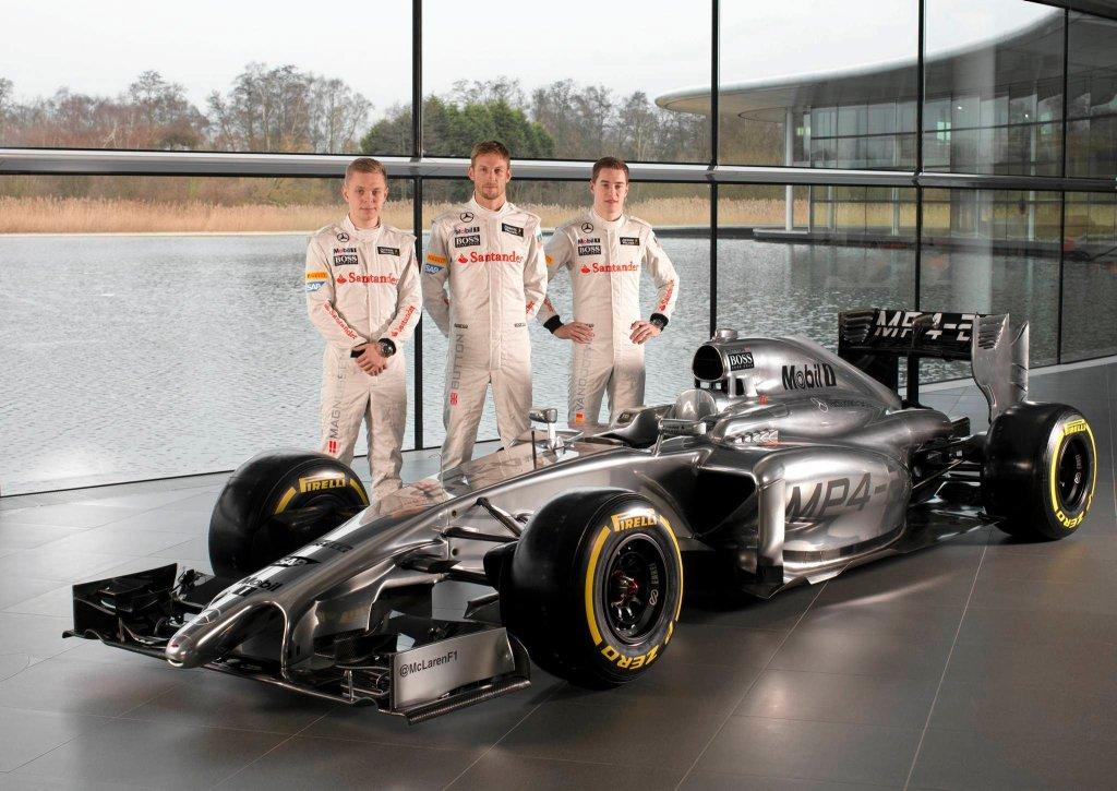 Nowy bolid McLarena