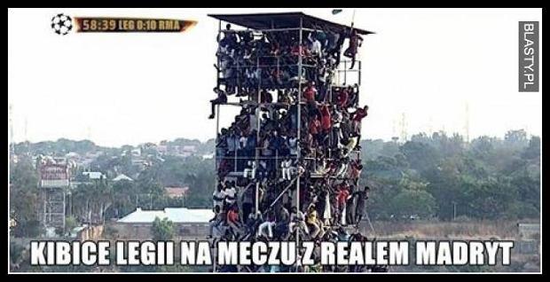 Memy przed meczem Legia-Real