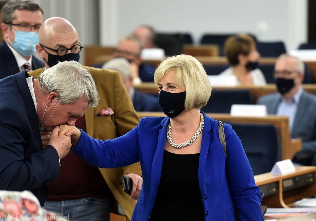 Lidia Staroń po głosowaniu ws. jej kandydatury