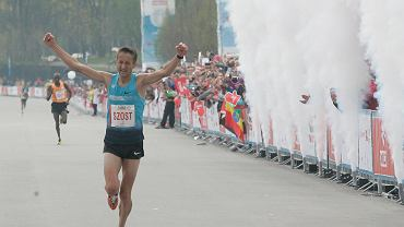 W ubiegłym roku Henryk Szost w Orlen Warsaw Marathon zajął trzecie miejsce