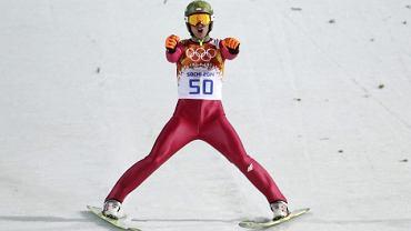 Kamil Stoch w konkursie na dużej skoczni