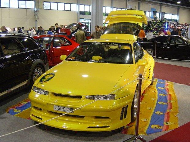 Opel Calibra po tuningu