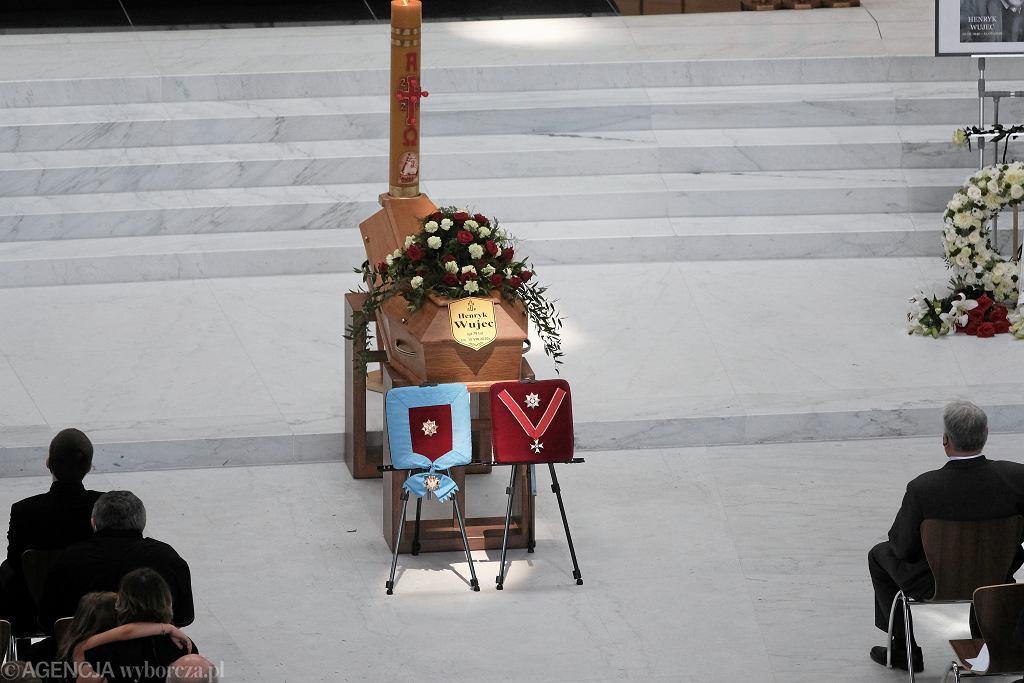 Uroczystości pogrzebowe Henryka Wujca