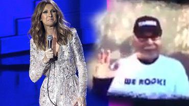 Celine Dione oddaje hołd umierającemu mężowi