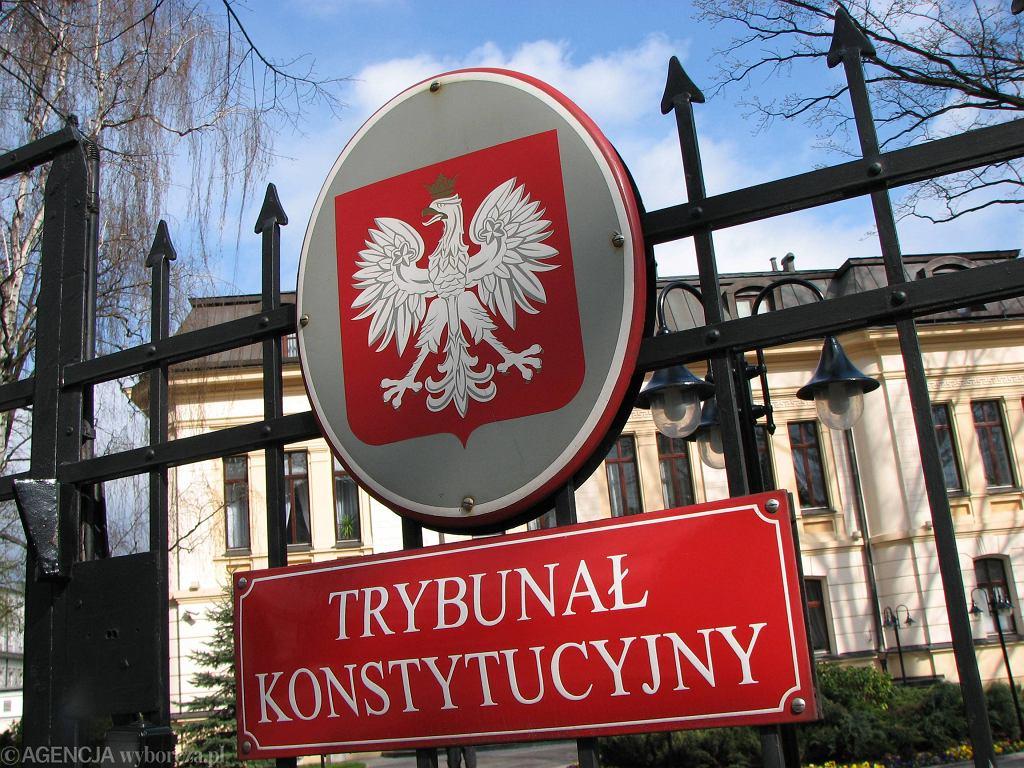 Trybunał Konstytucyjny.