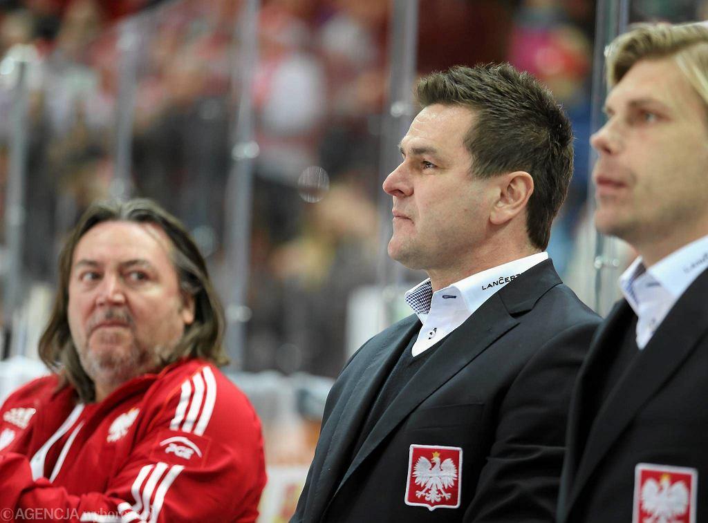 Jacek Płachta podczas meczu z Austrią