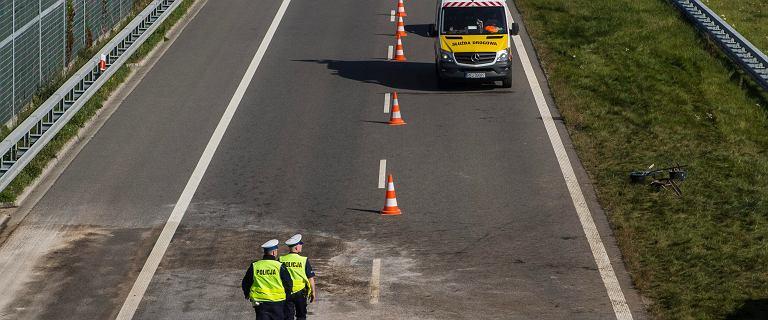 Wypadek autostradzie A1. Liczne utrudnienia w ruchu drogowym