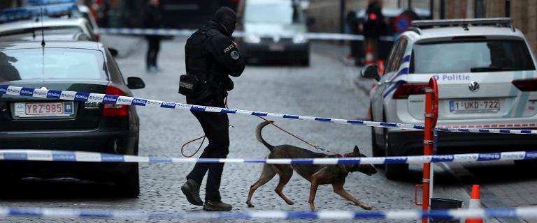Bruksela. Nożownik zaatakował policjanta. Motywy sprawcy są nieznane