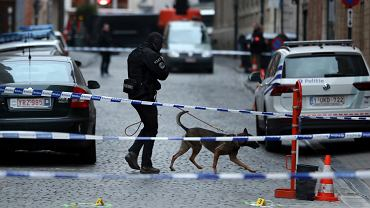 Atak na policjanta w Brukseli