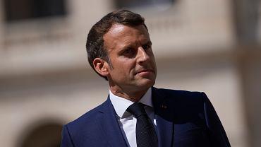 Emmanuel Macron, prezydent Francji