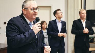 Wiceprezydent Gdańska spotkał się z matką zabójcy Pawła Adamowicza.