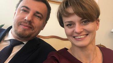 Rober Nowicki i Jadwiga Emilewicz