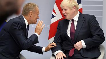 Donald Tusk i Boris Johnson - zdjęcie ilustracyjne/AP Photo