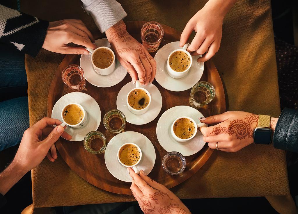 Wspólne picie kawy