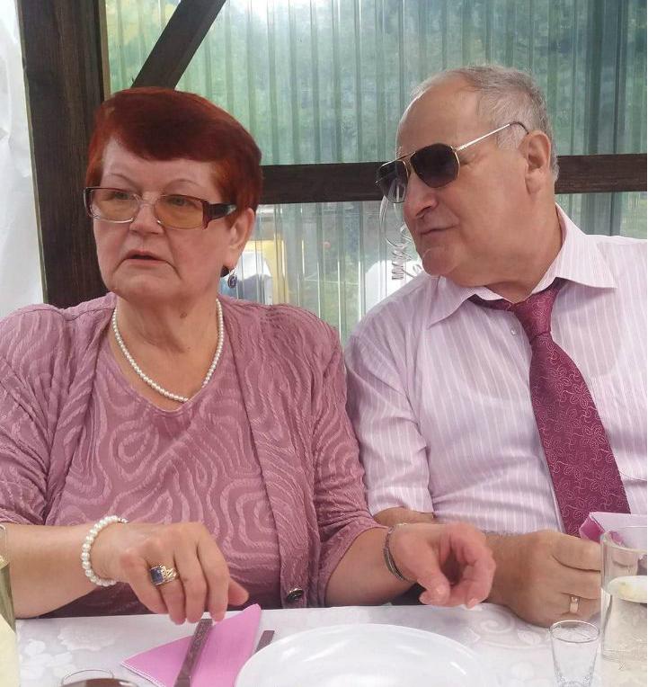 Pan Jerzy z żoną Halinką (fot: archiwum prywatne)