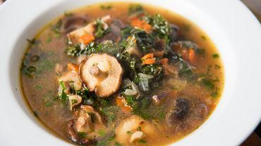Zupa grzybowa - przepis. Zdj. ilustracyjne