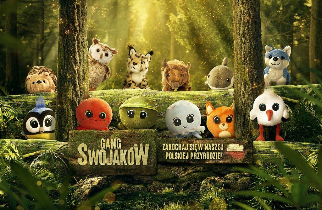 Maskotki z 'Gangu Swojaków'