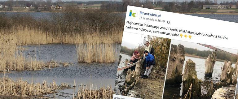 Odkrycie w jeziorze Gopło. Tajemnicze konstrukcje sprzed tysiąca lat