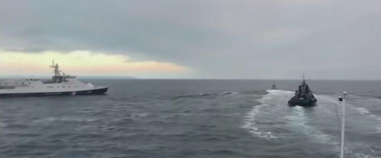 Rosja zwróci Ukrainie trzy okręty zajęte w Cieśninie Kerczeńskiej