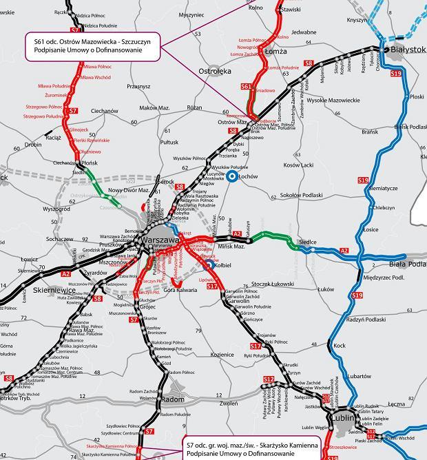2,3 mld zł na nowe drogi. Wiadomo, na które odcinki będą wydane unijne fundusze