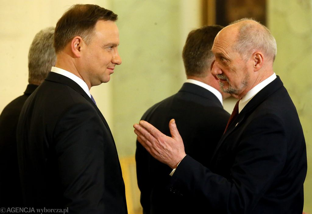 Wręczenie nominacji na stanowisko Dowodcy Generalnego Rodzajow Sil Zbrojnych, Warszawa 08.02.2017