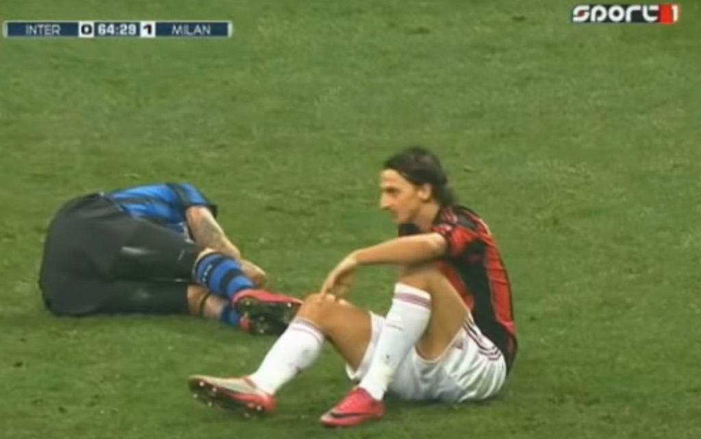 Zlatan Ibrahimović wspomina brutalny faul na Marco Materazzim