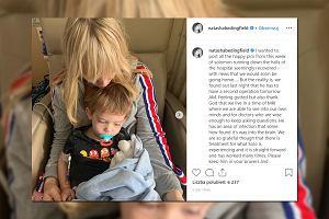 Natasha Bedingfield wyjawiła, że jej roczne dziecko przeszło operację mózgu