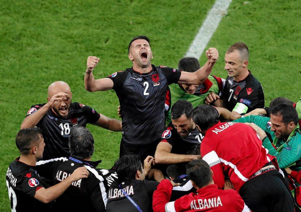 Rumunia - Albania 0:1