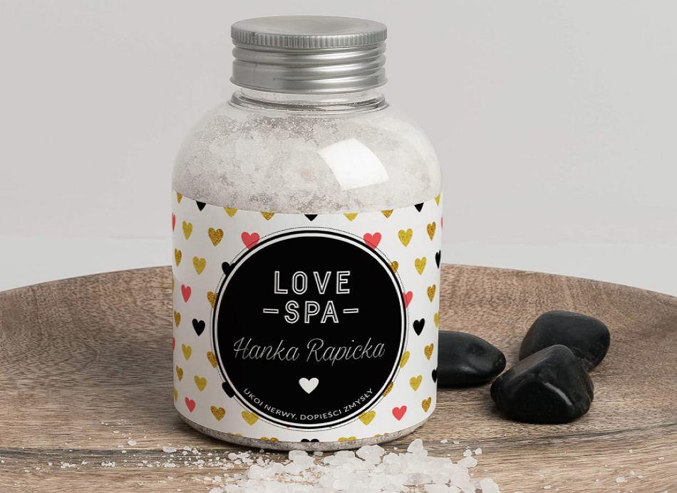 Sól do kąpieli Love SPA.