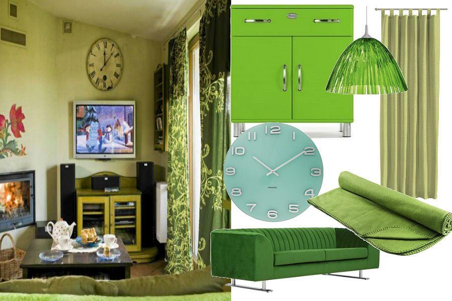 Zielone dodatki do mieszkania