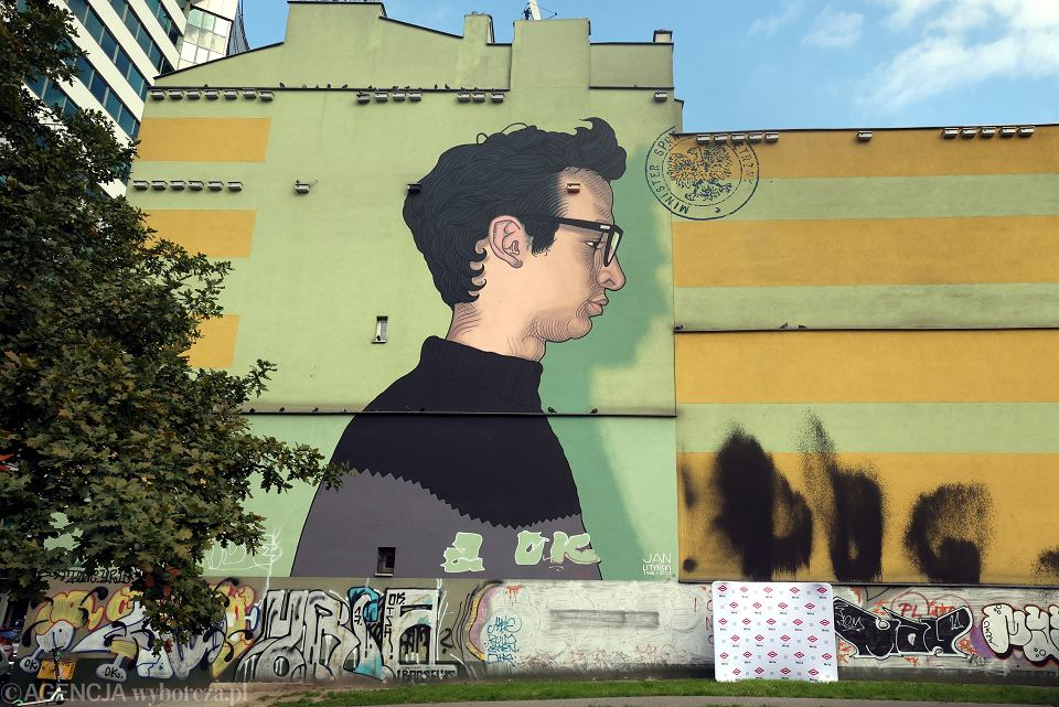 Odsłonięcie muralu Jana Lityńskiego