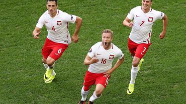 Jakub Błaszczykowski po zdobyciu gola w meczu Polska - Ukraina