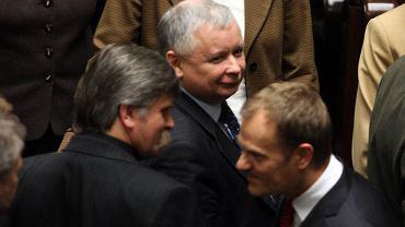 Jarosław Kaczyński, Donald Tusk