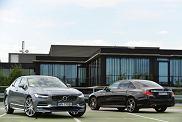 Volvo S90 kontra Mercedes klasy E   Konfrontacja