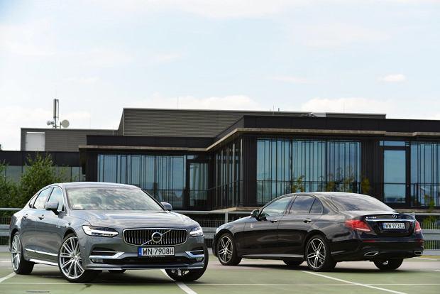 Volvo S90 D4 vs Mercedes E 220d | Konfrontacja | Wybór (nie)oczywisty