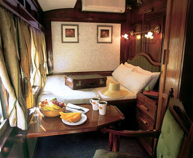 podróże, afryka, Podróż pociągiem po Afryce, Kabina Emerald