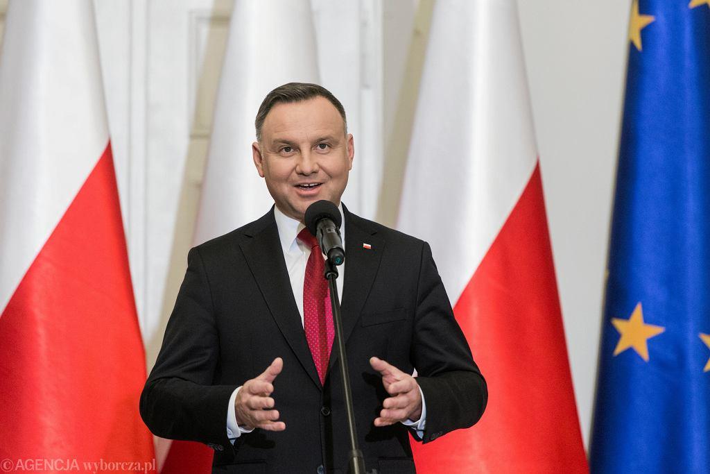 Andrzej Duda prawdopodobnie będzie się starał o reelekcję w wyborach prezydenckich 2020