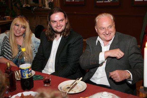 Maryla Rodowicz w Wilnie z mężem i synem