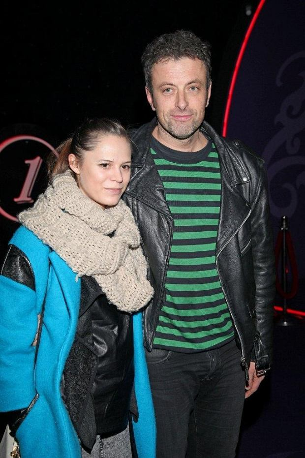 Tymon Tymański z partnerką Marią