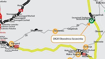 Obwodnica Szczecinka w ciągu DK20