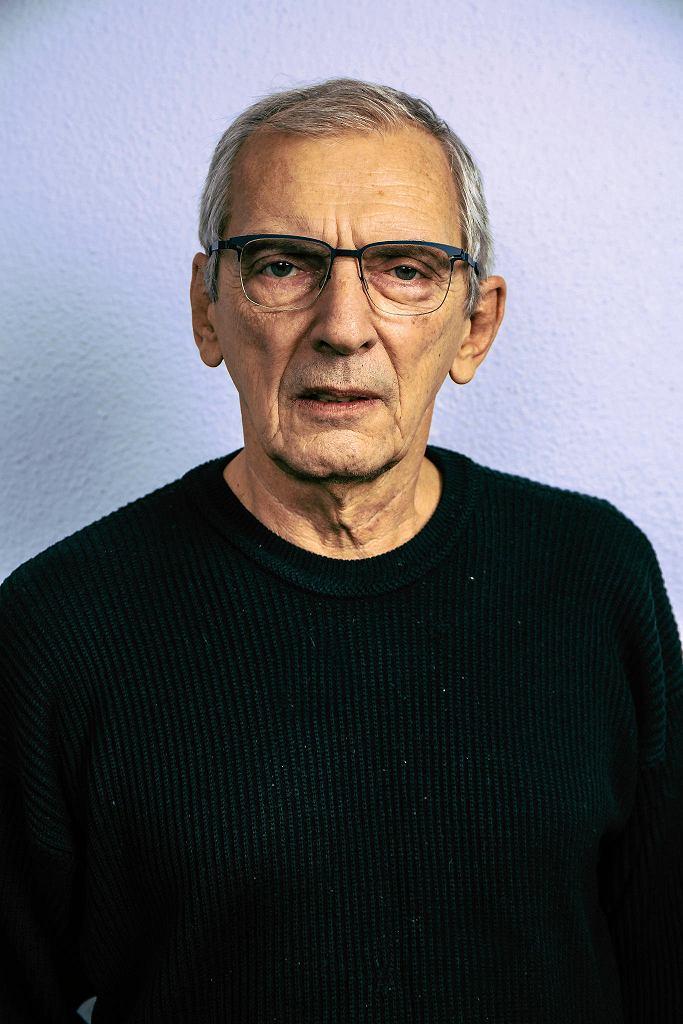 Maciej Englert, reżyser spektaklu 'Psie serce' w Teatrze Współczesnym . /