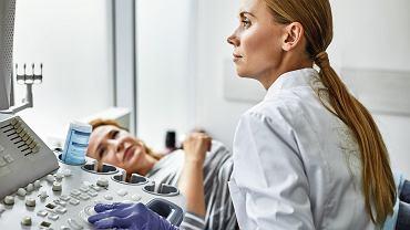 Wczesne wykrycie raka trzonu macicy jest możliwe dzięki badaniu USG