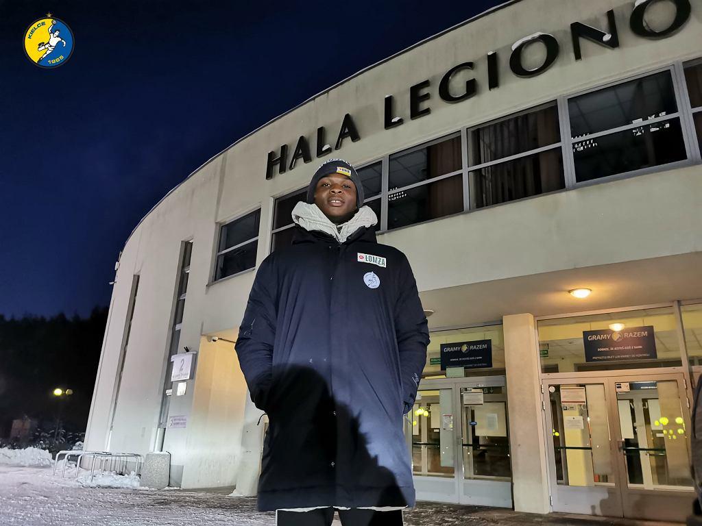 Nigeryjczyk Yusuf Faruk, nowy zawodnik Łomży Vive Kielce