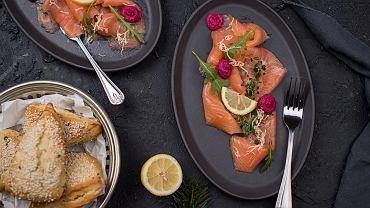 Carpaccio z łososia to kolejny włoski wkład w kulturę jedzenia na całym świecie.