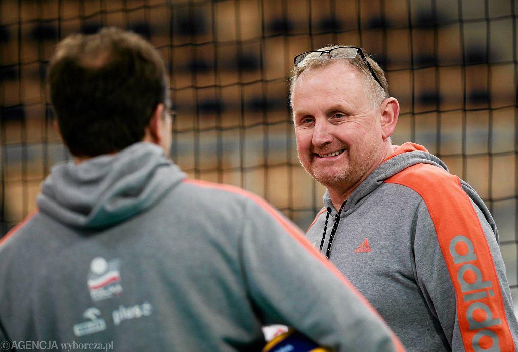 Jacek Nawrocki, trener reprezentacji Polski siatkarek